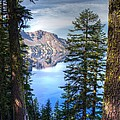Crater Lake 1 by Jacklyn Duryea Fraizer