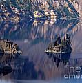 Crater Lake 2 by Jacklyn Duryea Fraizer