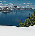 Crater Lake Panorama by Greg Nyquist