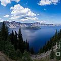 Crater Lake Pnorama - 2 by Dan Hartford
