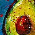 Crazy Avocado 4 - Modern Art by Patricia Awapara