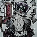 Crazy Carla Queen Of Charcoal Land by Carla Carson