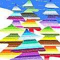 Crazy Christmas Trees by Stephanie Grant