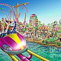 Crazy Coaster by Adrian Chesterman