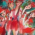 Crazy Joker Showgirls by Judith Desrosiers
