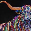 Crazy Woman Bull by Janice Pariza