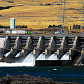 The Dalles Dam by David Lee Thompson