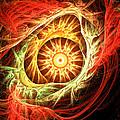 Creation Of Sun by Lourry Legarde