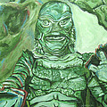 Creature From The Black Lagoon by Michael Morgan