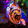 Creatures Of The Deep - Fear No Fish 5d24799 Square by Wingsdomain Art and Photography