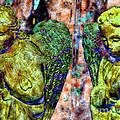 Creche Angels 3 by Diane DiMarco