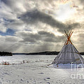 Cree Tepee by Mircea Costina Photography