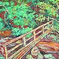 Creek Bridge by Kendall Kessler