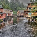 Creek Street - Ketchikan - Alaska by Bruce Friedman