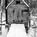 Creepy Cabin In The Woods by Edward Fielding