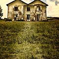 Creepy Derelict House by Innershadows Photography