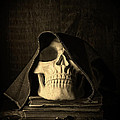 Creepy Hooded Skull by Edward Fielding