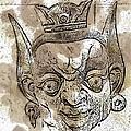 Creepy Mask by Alice Gipson
