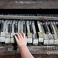 Creepy Piano Baby by Bethany Helzer