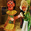 Creepy Punch And Judy by Doc Braham
