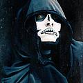 Creepy Skeleton by Sharon Dominick