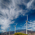 Creosote And Wind Turbines by Scott Campbell