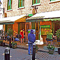 Crepes Et Fondues In Old Montreal-qc by Ruth Hager