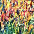 Crescendo Of Spring Abstract by Georgiana Romanovna