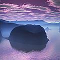 Crescent Bay 2 Alien Landscape by Judi Suni Hall