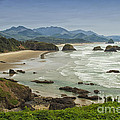 Crescent Beach Oregon by Carrie Cranwill