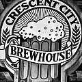 Crescent City Brewhouse - Bw by Kathleen K Parker