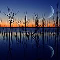 The Crescent Moon by Raymond Salani III