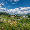 Crested Butte Farm House by Michael J Bauer