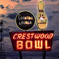 Crestwood Bowl Restored by Robert  FERD Frank