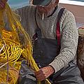 Crete Fisherman   #9348 by J L Woody Wooden