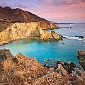 Cretan Coastline. by Milan Gonda