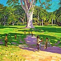 Cricket Match St George Granada by Andrew Macara