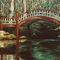 Crim Dell Bridge - College Of William And Mary by Gulay Berryman