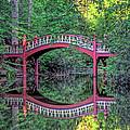 Crim Dell Bridge In Summer by Jerry Gammon