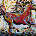 Crimson Lightning by Amy Giacomelli