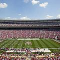 Crimson Tide A-day Football Game At University Of Alabama  by Carol M Highsmith