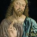 Cristo Salvator Mundi, C.1490-94 by Master of the Pala Sforzesca