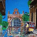 Capilla De Cristo - Old San Juan by The Art of Alice Terrill