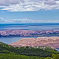 Croatian Islands Aerial View From Velebit by Brch Photography