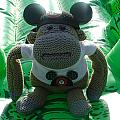 Croc Riding Monkey by David Nicholls