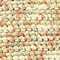 Crochet Rag Rug In Pastel Colours by Kerstin Ivarsson