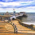 Cromer Pier Norfolk by Sheila Smart Fine Art Photography