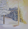 Crooked Creek Morning Light by Robert P Hedden