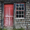 Crooked Red Door by John Vose