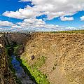 Crooked River Canyon And Bridge by Jess Kraft